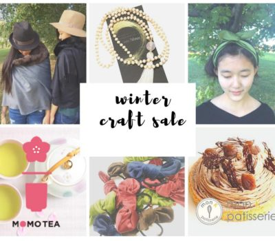Winter Craft Sale by one7three studio